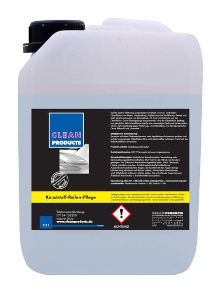 CLEANPRODUCTS Kunststoff-/Reifen-Pflege (außen) - 2,3 Liter – Bild 1