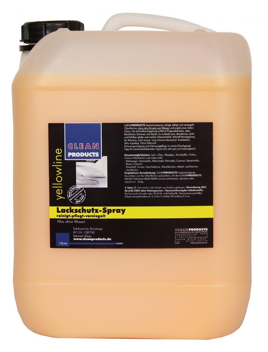cleanproducts lackschutz spray detailer 10 liter reinigung pflege au en pflege pflegemittel. Black Bedroom Furniture Sets. Home Design Ideas
