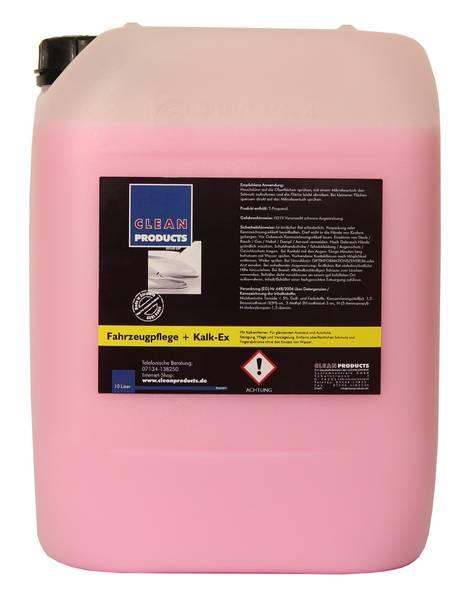 CLEANPRODUCTS Fahrzeugpflege Detailer mit Kalkflecken-Entferner - 10 Liter
