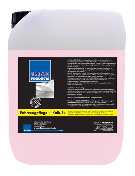 CLEANPRODUCTS Fahrzeugpflege Detailer mit Kalkflecken-Entferner - 4,8 Liter – Bild 1