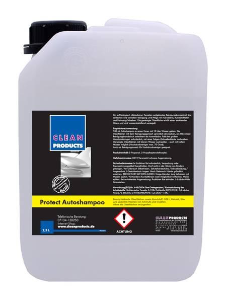 CLEANPRODUCTS Protect Autoshampoo (Konzentrat mit Wachs) - 2,3 Liter