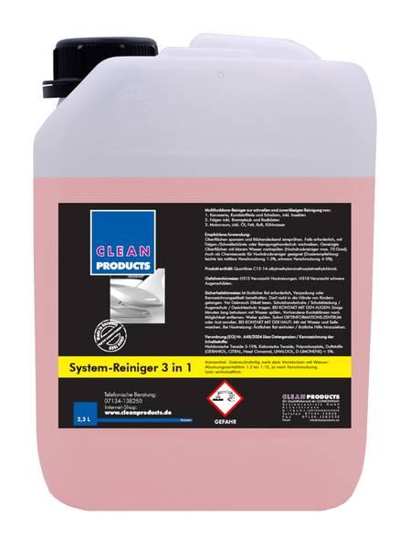 CLEANPRODUCTS Fahrzeug-Außen-Reiniger 3 in 1 (Konzentrat) - 2,3 Liter – Bild 1