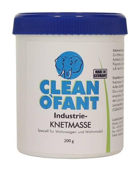CLEANOFANT Industrieknetmasse (Reinigungsknete) BLAU 200 g