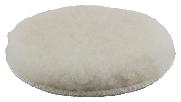 CLEANEXTREME Lammfell-Polierpad Weiß 133 mm - 1 Stück – Bild 1