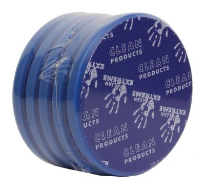CLEANPRODUCTS Exzenter-Polierschwamm medium-retikuliert Blau 165 mm - 5 Stück – Bild 2