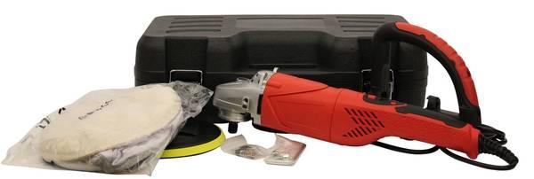 Profi-Poliermaschine mit Zubehör im Koffer für die Fahrzeugpolitur – Bild 3