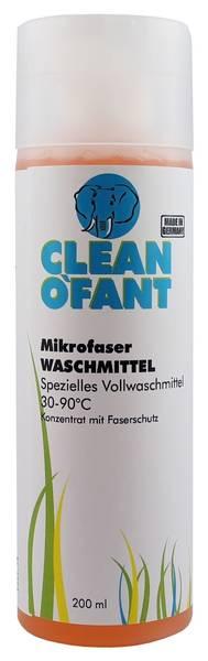 CLEANOFANT Mikrofaser-WASCHMITTEL 200 ml