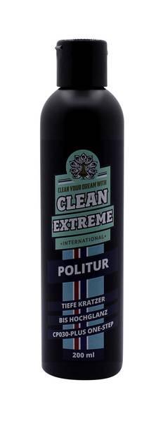 CLEANEXTREME Politur Tiefe Kratzer bis Hochglanz CP030-PLUS - One-Step - 200 ml – Bild 1