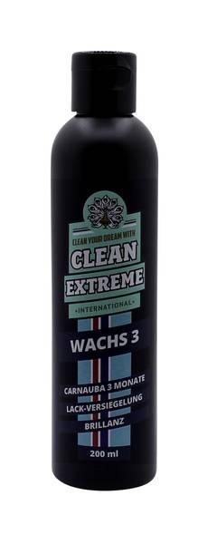 CLEANEXTREME WACHS 3 Monate Brillanz Auto-Lackversiegelung (Carnaubawachs) - 200 ml – Bild 1