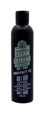 CLEANEXTREME PROTECT 12 Auto-Lackversiegelung >105° superhydro (silikonölfrei) - 200 ml