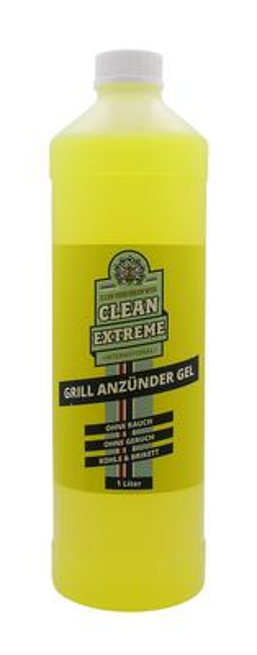 CLEANEXTREME Grillanzünder-Gel - 1 Liter – Bild 1