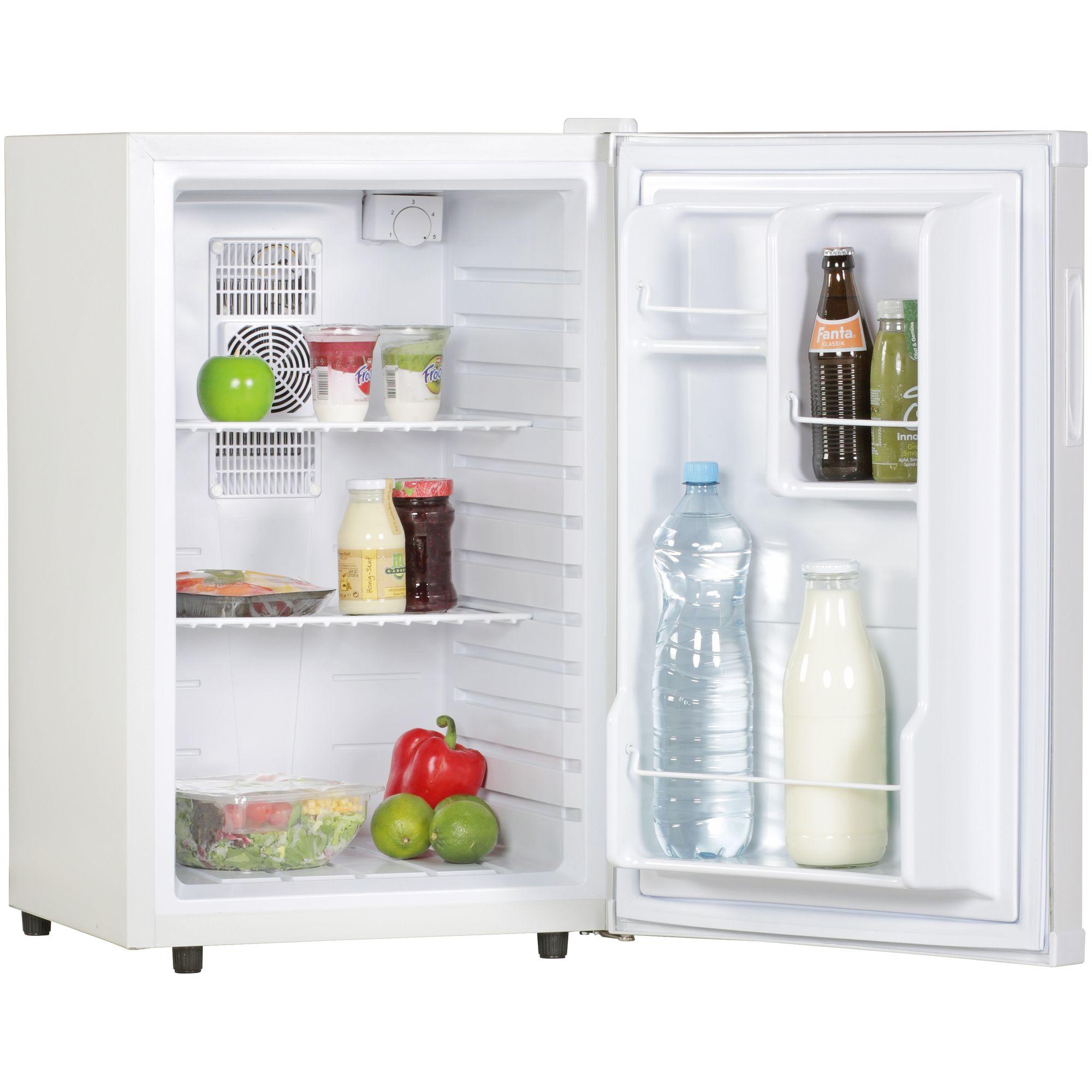 AMSTYLE Mini Kühlschrank 65 Liter / Minibar weiß ...
