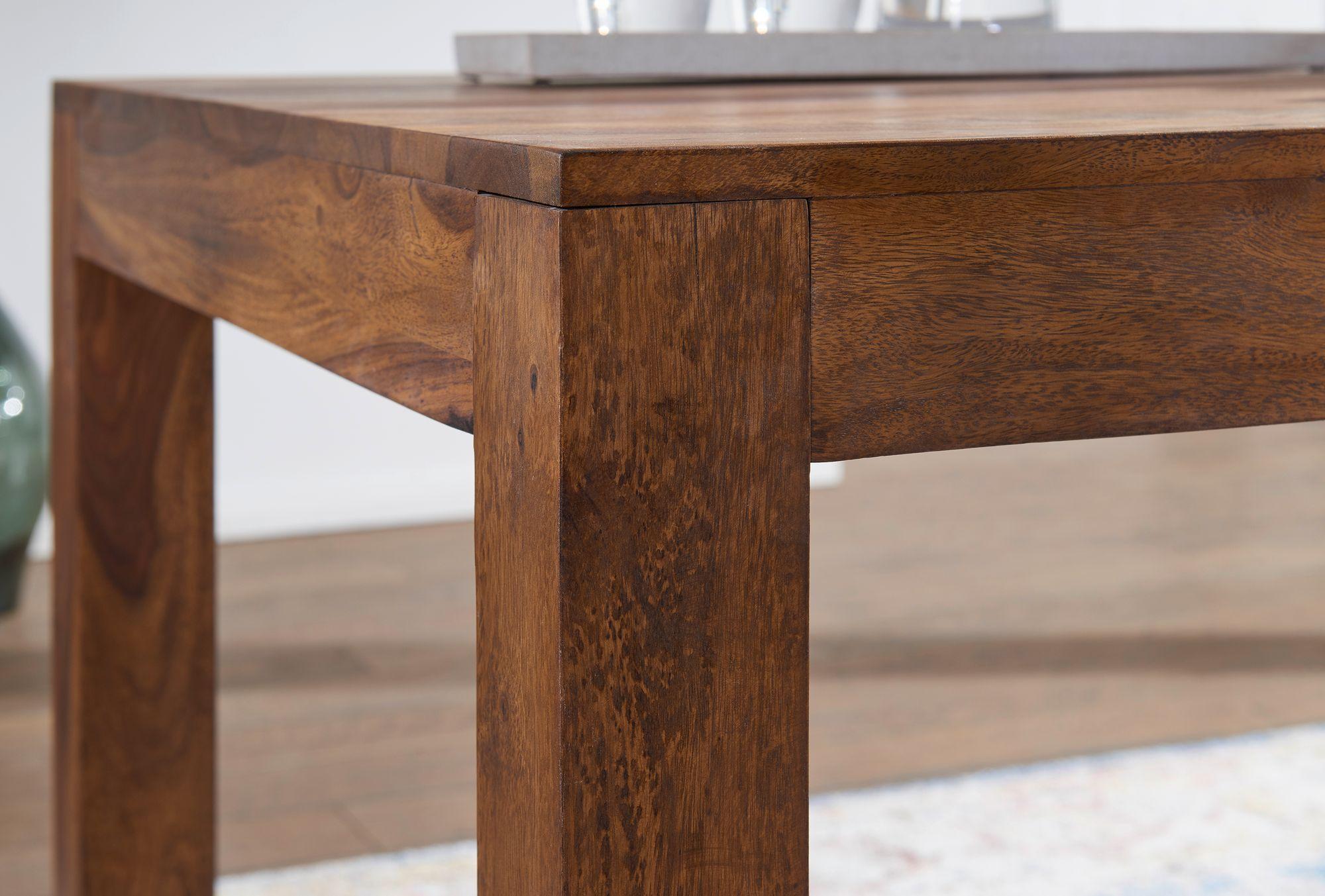Wohnling esstisch massiv 140 x 80 cm massivholz for Design esstisch 140