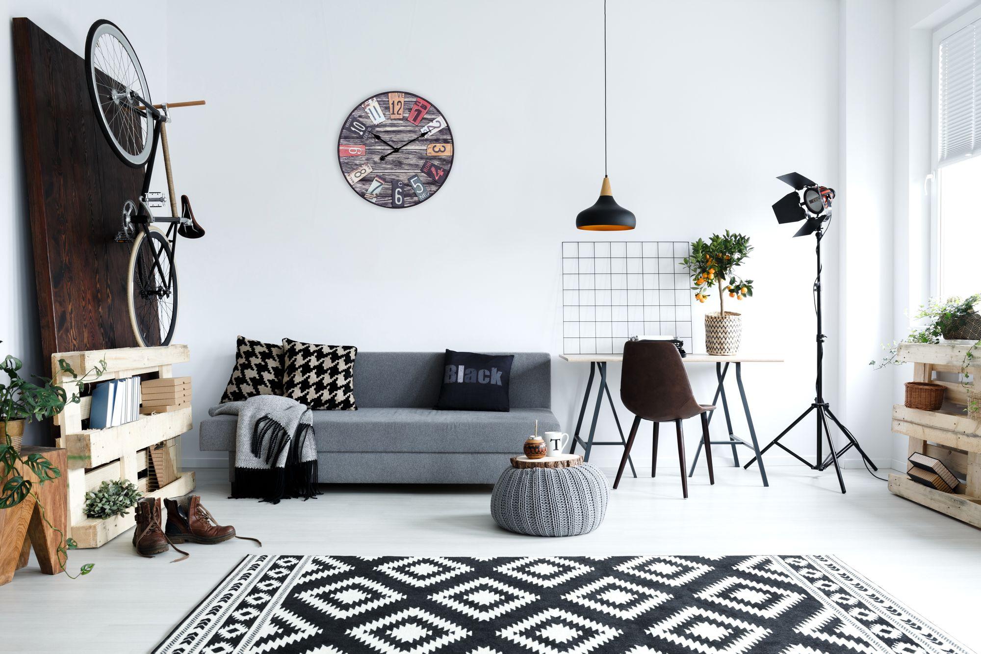 Wanduhr Design Modern ~ Finebuy wanduhr xxl Ø 60 cm big time design küchenuhr vintage look