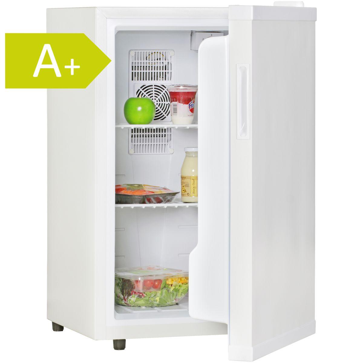 FineBuy Mini Kühlschrank Minibar weiß 65l 5° - 15°C Getränkekühler ...