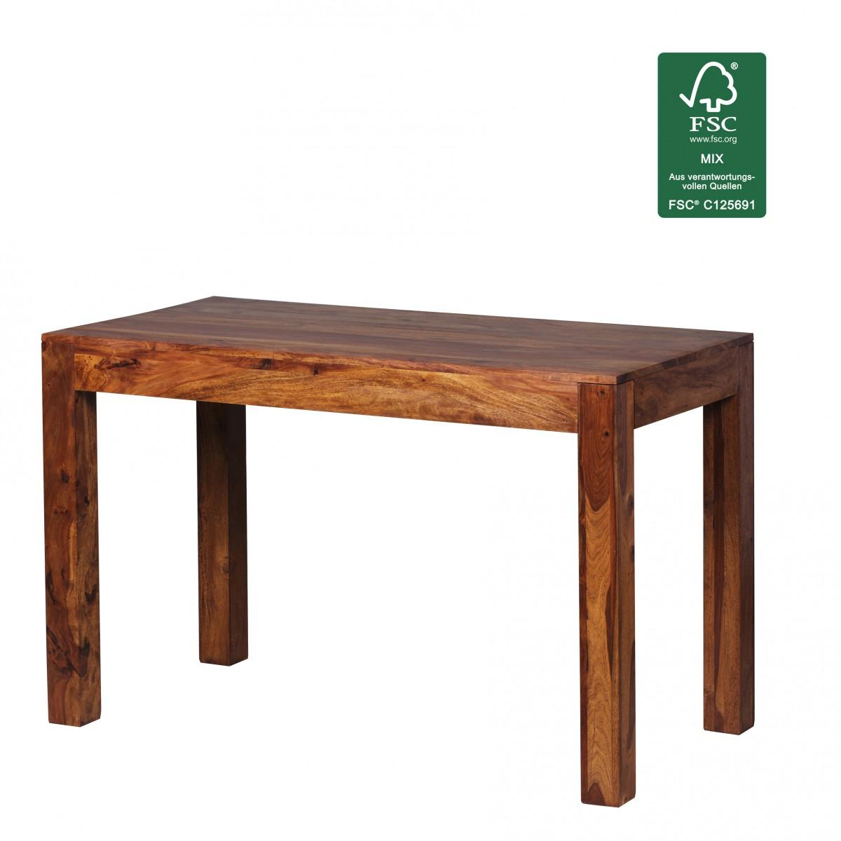 Design Esstisch Holz Massiv 120 X 60 X 76 Cm | Moderner Esszimmertisch  Sheesham Palisander Für 4   6 Personen Massivholz 37950