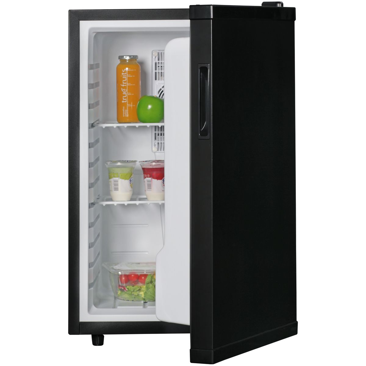 AMSTYLE Mini Kühlschrank 65 Liter / Minibar schwarz ...