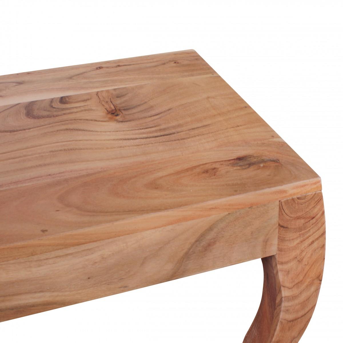 wohnling esszimmerbank kila massivholz akazie essbank 180. Black Bedroom Furniture Sets. Home Design Ideas