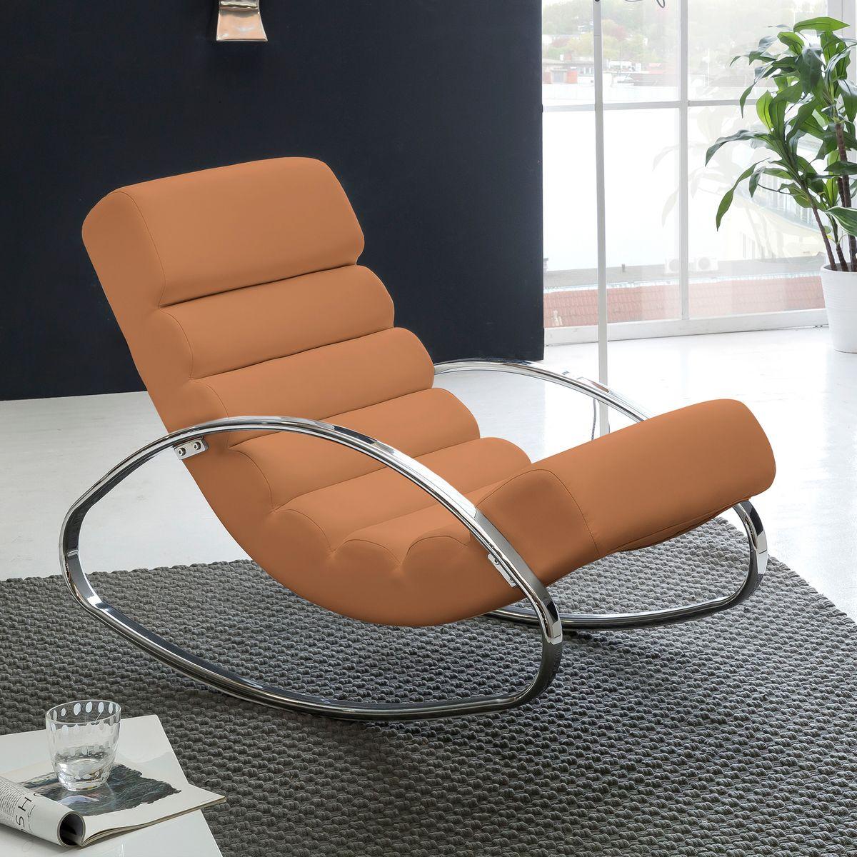 wohnling relaxliege sessel fernsehsessel farbe braun relaxsessel design schaukelstuhl wippstuhl. Black Bedroom Furniture Sets. Home Design Ideas
