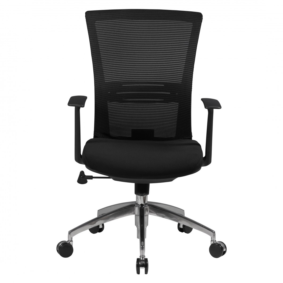 Neu Bürostuhl Drehstuhl Bürodrehstuhl Schreibtischstuhl 55x63 cm Schwarz Y8J0