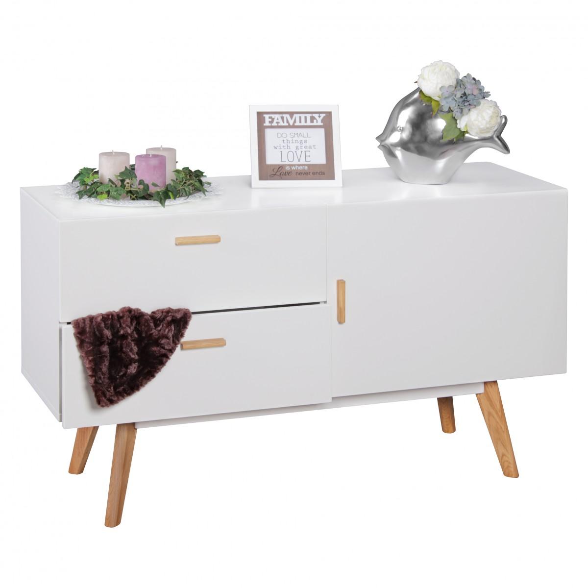 Inspirierend Dielenmöbel Modern Ideen Von Wohnling Sideboard Scanio Mdf Holz Weiß Mit