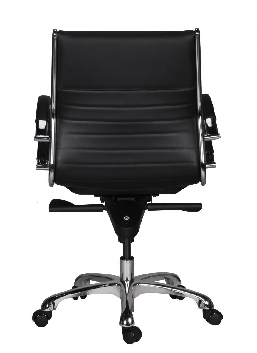 finebuy fred 2 chaise de bureau cuir pivotant confortable. Black Bedroom Furniture Sets. Home Design Ideas