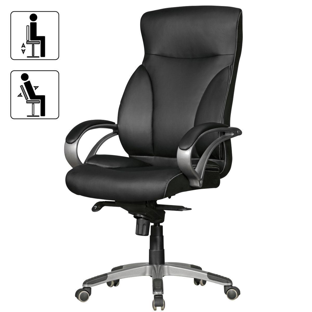 b rostuhl ergonomisch schreibtischstuhl kunstleder. Black Bedroom Furniture Sets. Home Design Ideas