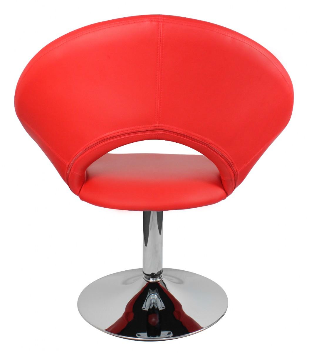 amstyle malta loungesessel leder optik rot relaxsessel. Black Bedroom Furniture Sets. Home Design Ideas