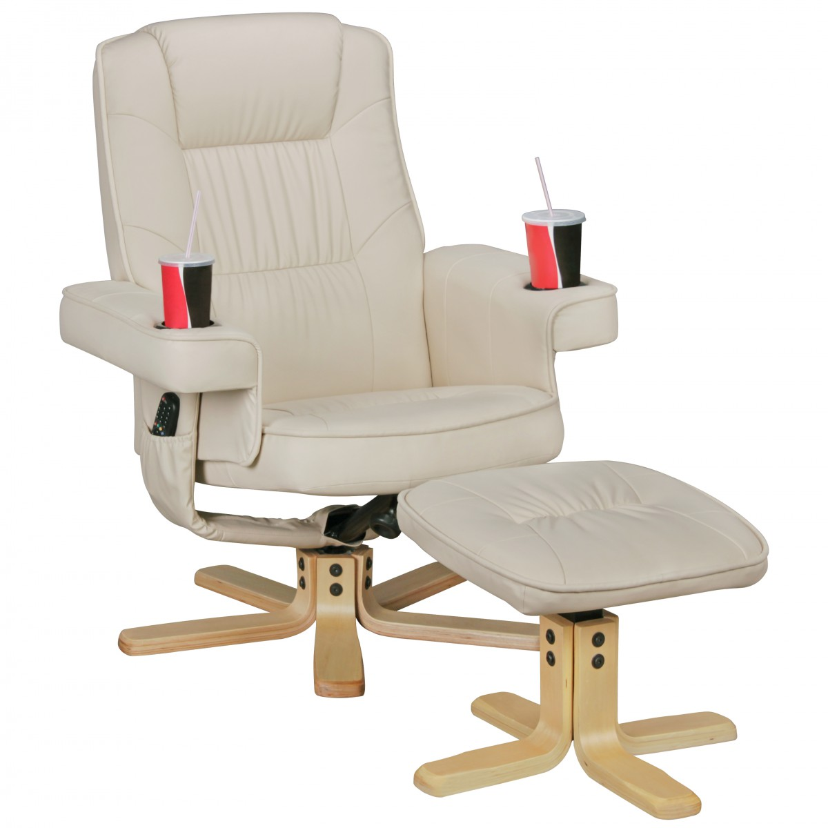 Amstyle Duo Relaxsessel Fernsehsessel Tv Sessel Mit Hocker