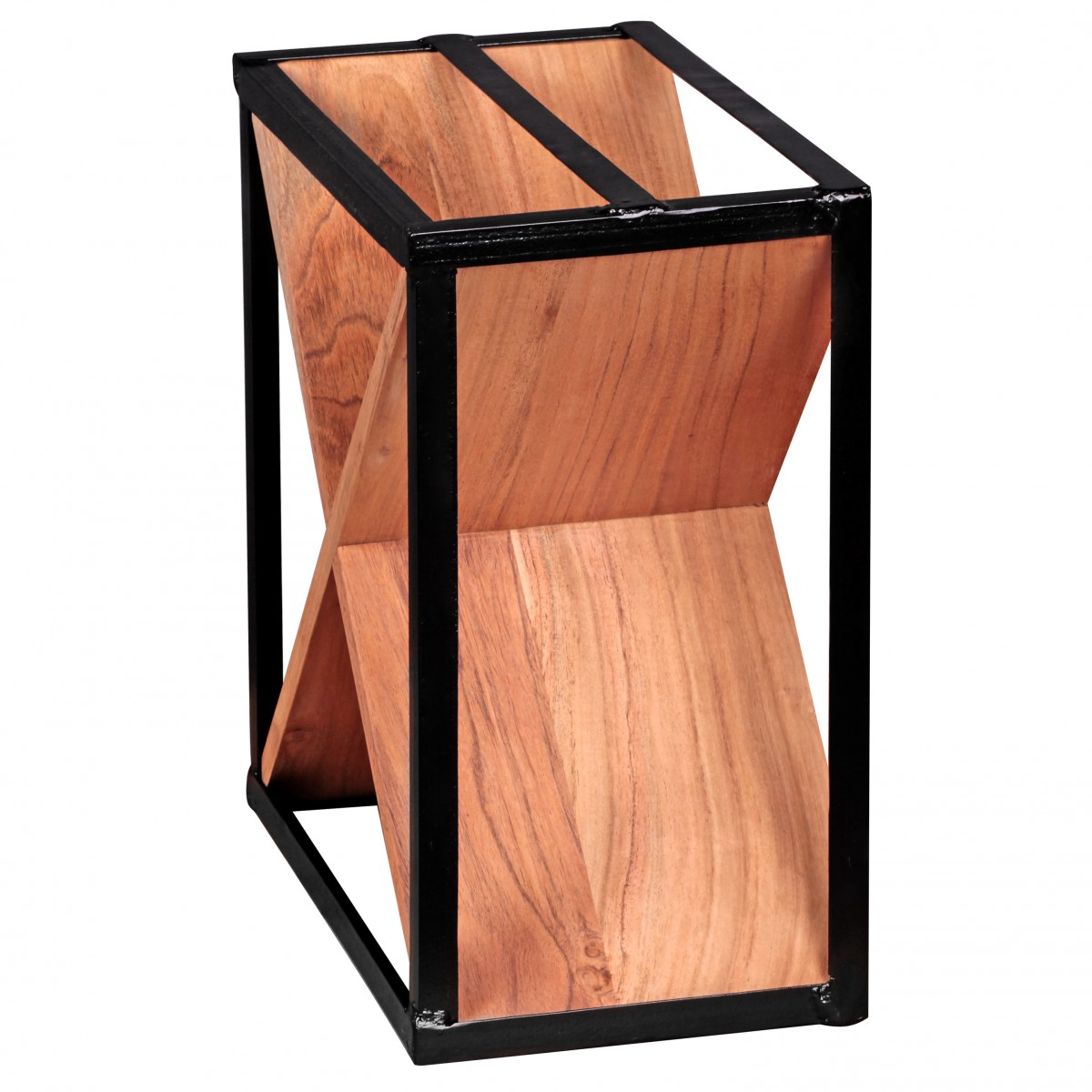 finebuy weinregal massiv holz flaschenregal design standregal f r ca 16 flaschen mit. Black Bedroom Furniture Sets. Home Design Ideas