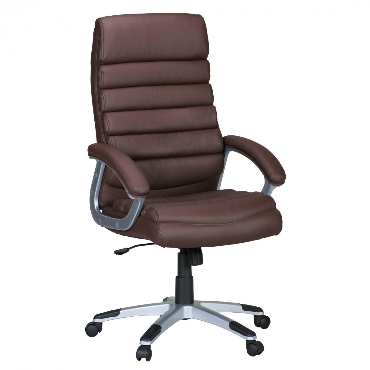 FineBuy Bürostuhl Drehstuhl Kunstleder Chefsessel Schreibtischstuhl Sessel Büro