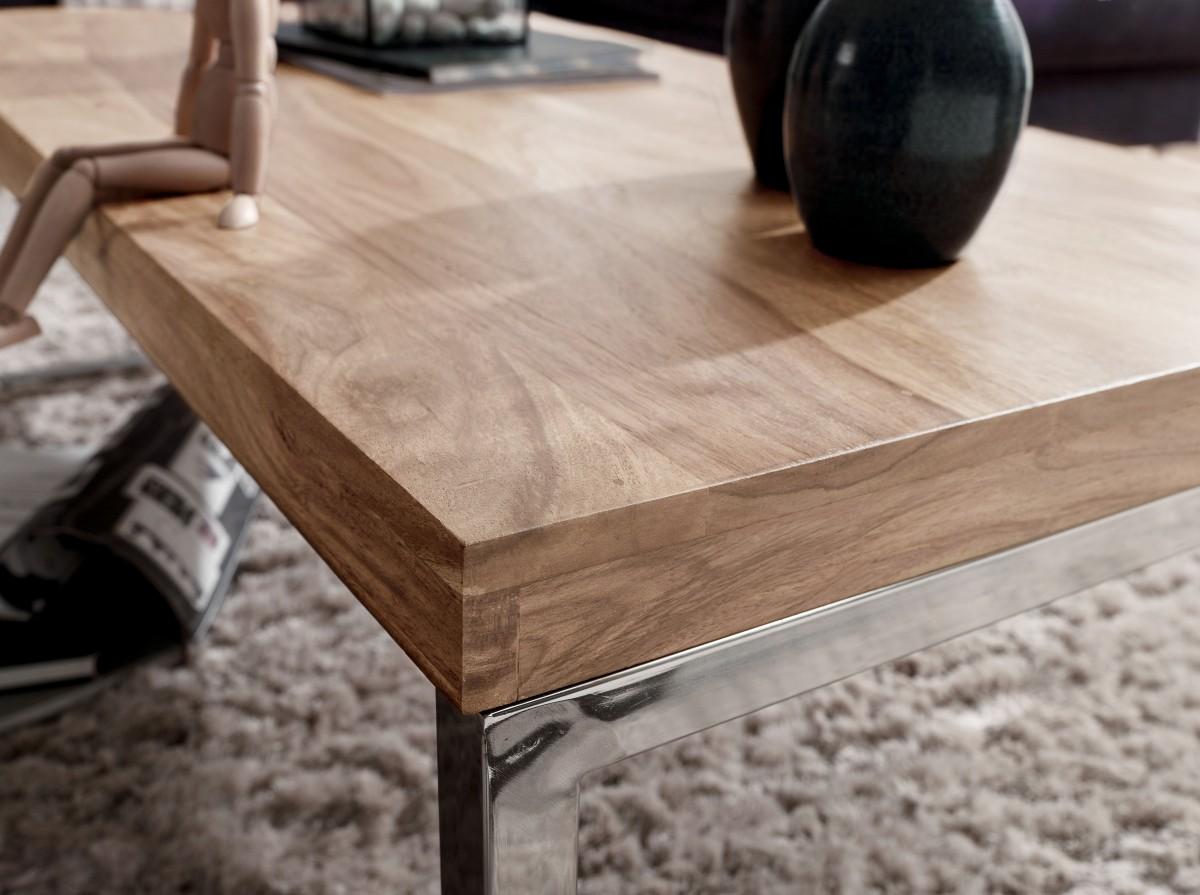 Genial Wohnzimmertisch Holz Foto Von Finebuy Couchtisch Java 120 X 60 X