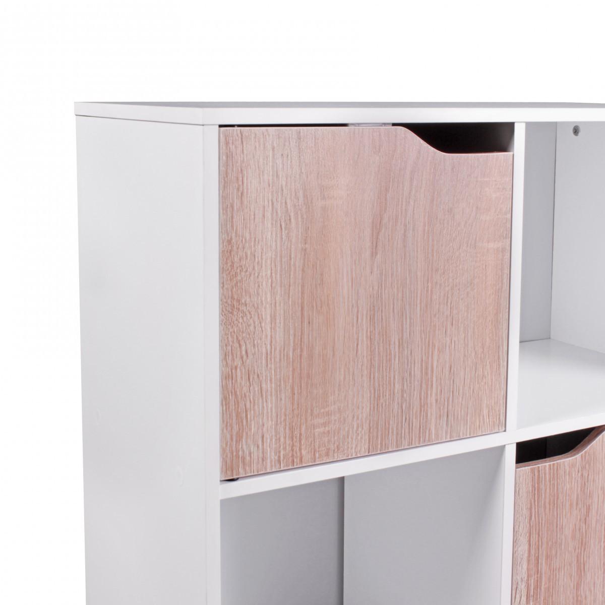 Picturesque Bücherregal Weiß Holz Decoration Of Finebuy Design Bücherregal Modern Weiß Mit Türen