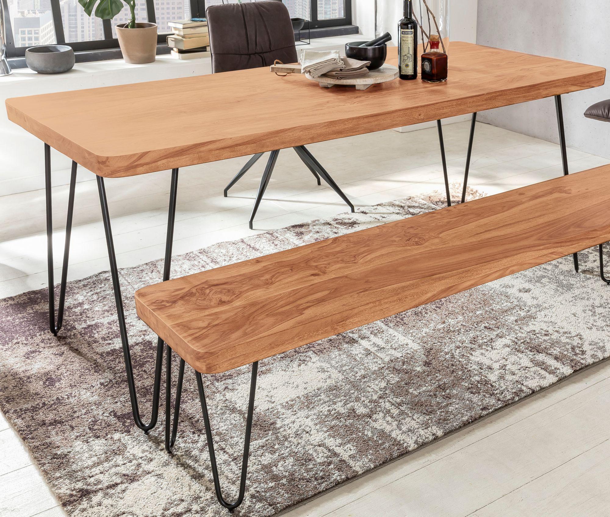 Exquisit Tisch Esszimmer Referenz Von Massiver Esstisch Harlem Akazie Massiv Holz  