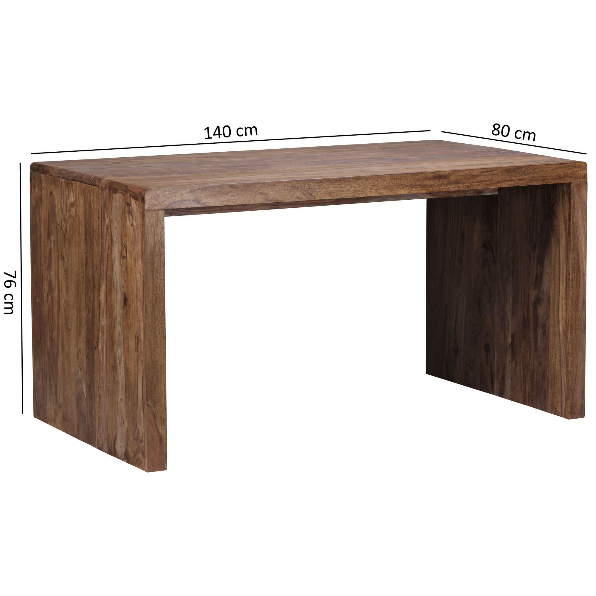 Beliebt Schreibtisch Massiv Holztisch Sheesham Palisander Büro TS66