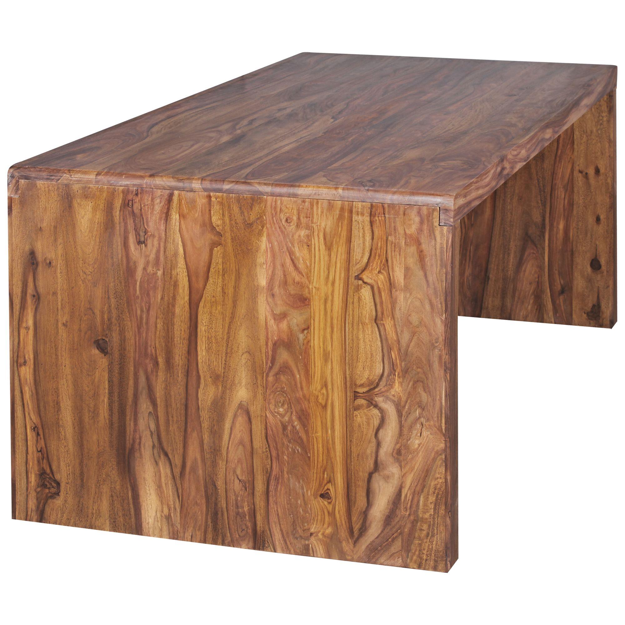 Favorit Schreibtisch Massiv Holztisch Sheesham Palisander Büro IG74