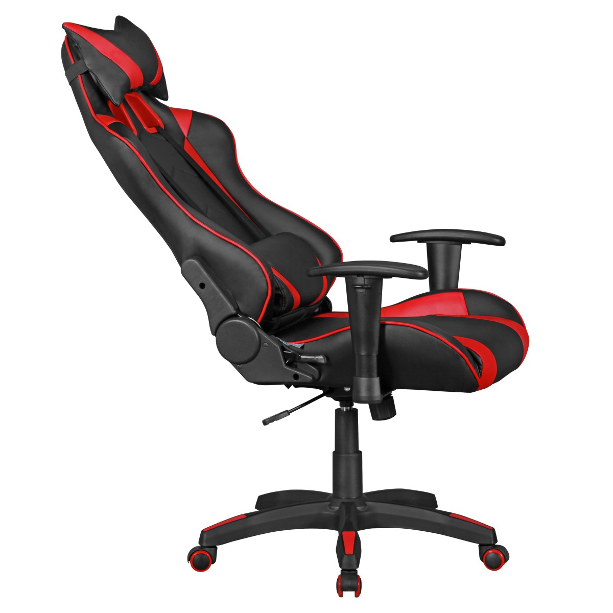 amstyle b rostuhl score schwarz rot chefsessel schreibtischstuhl gaming chair ebay. Black Bedroom Furniture Sets. Home Design Ideas