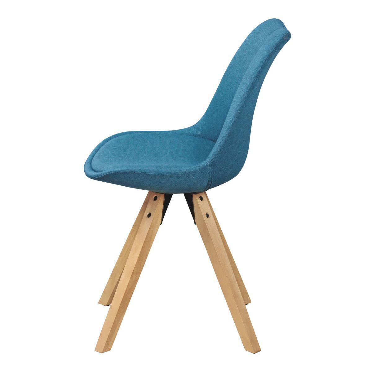 Finebuy 2er set retro esszimmerstuhl polsterstuhl stoff bezug r ckenlehne design k chen stuhl - Retro esszimmerstuhl ...