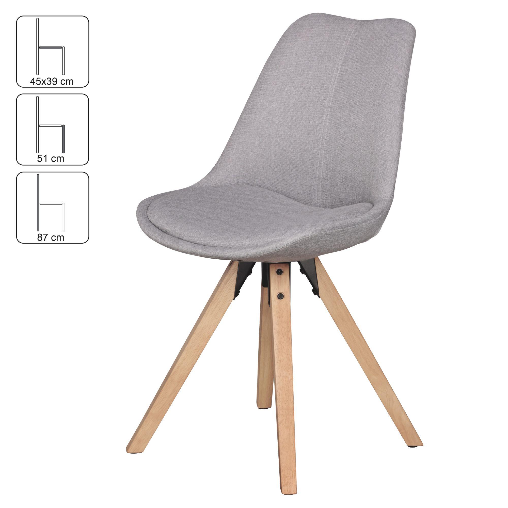 Finebuy Design Esszimmerstuhle 2er Set Sv43580 Skandinavische Stuhle Mit Holzbeinen Retro Stuhlset Bunt Kuchenstuhle