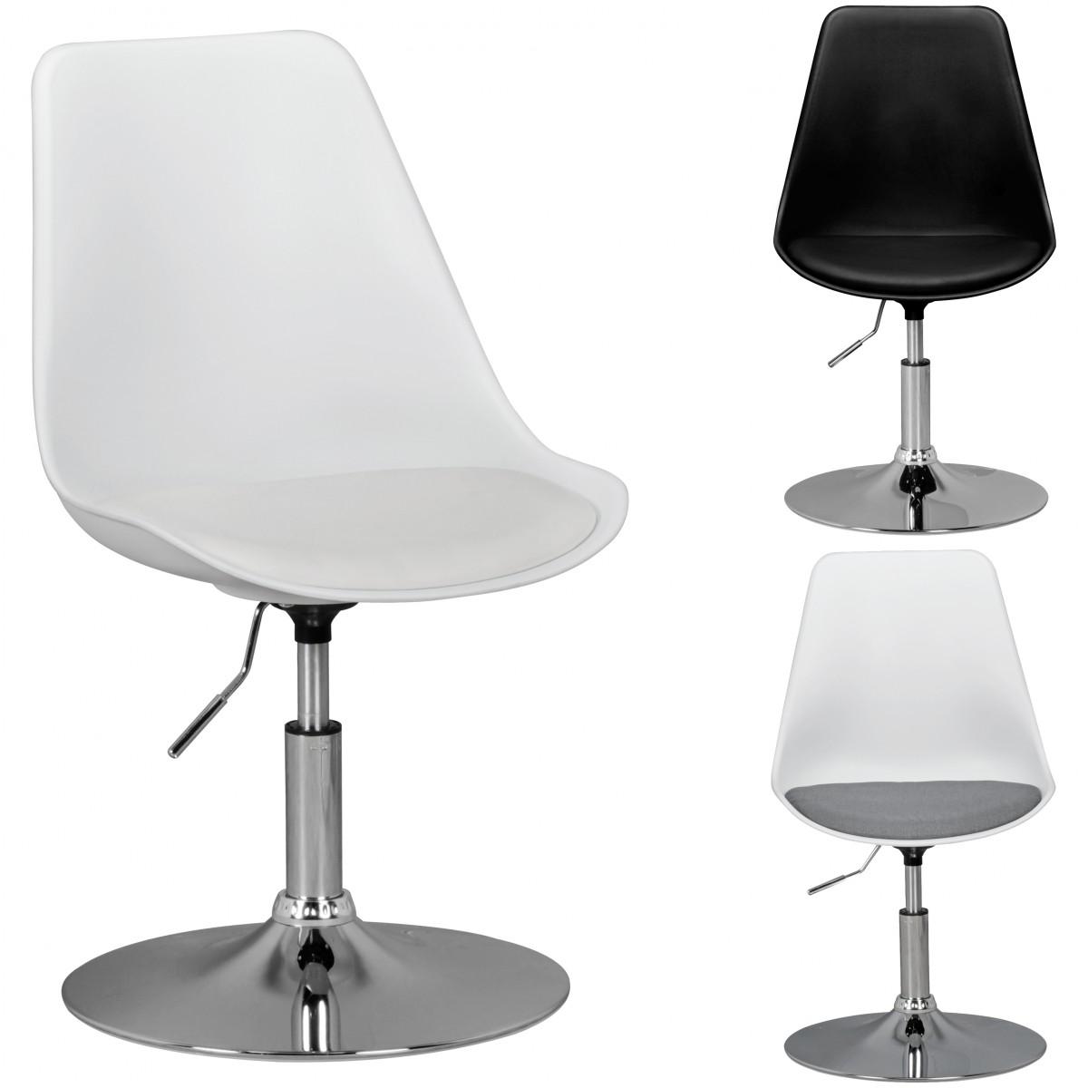 Drehsessel h henverstellbar design drehstuhl for Esszimmerstuhl drehbar
