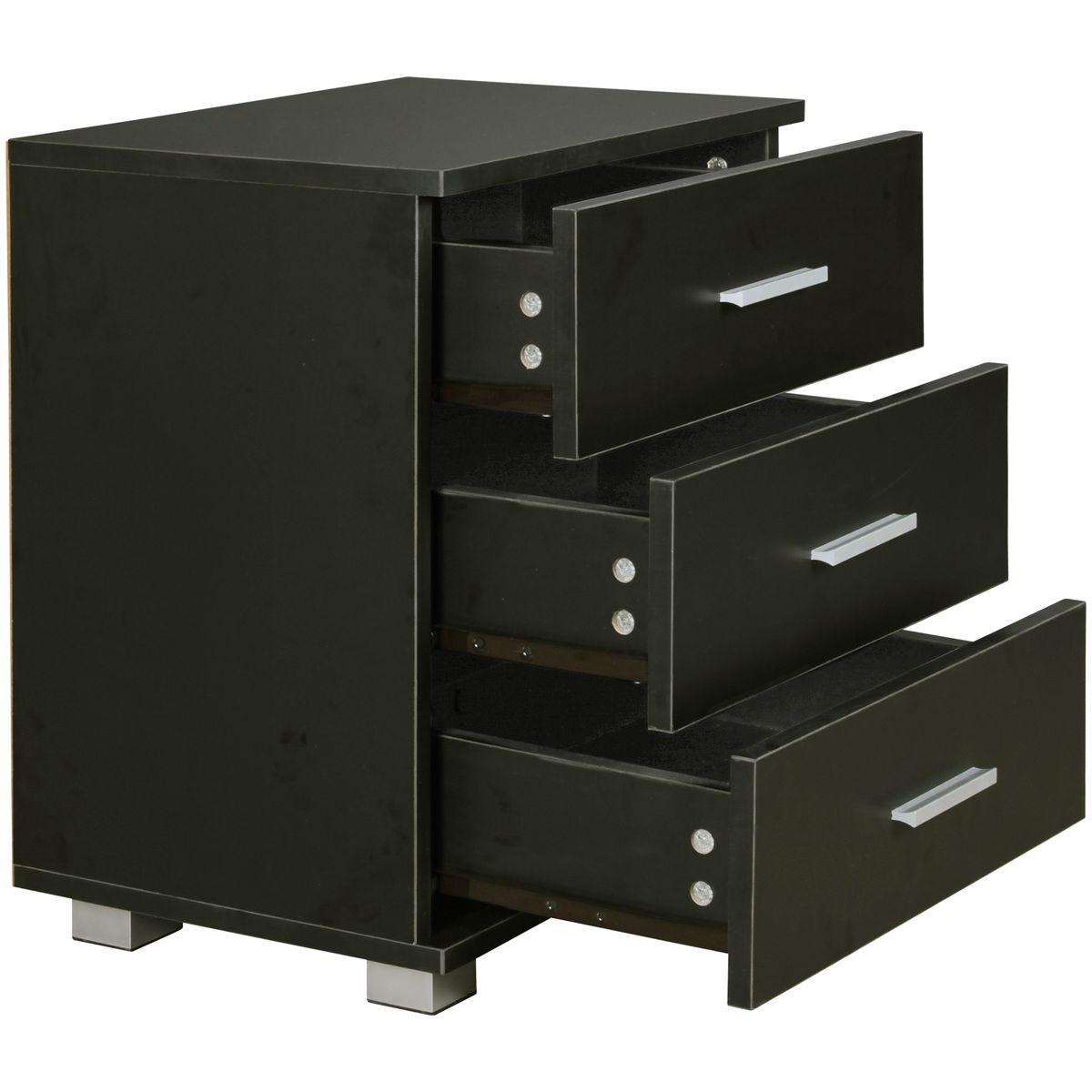 nachtkonsole nachtschrank holz nachtk stchen schlafzimmer. Black Bedroom Furniture Sets. Home Design Ideas
