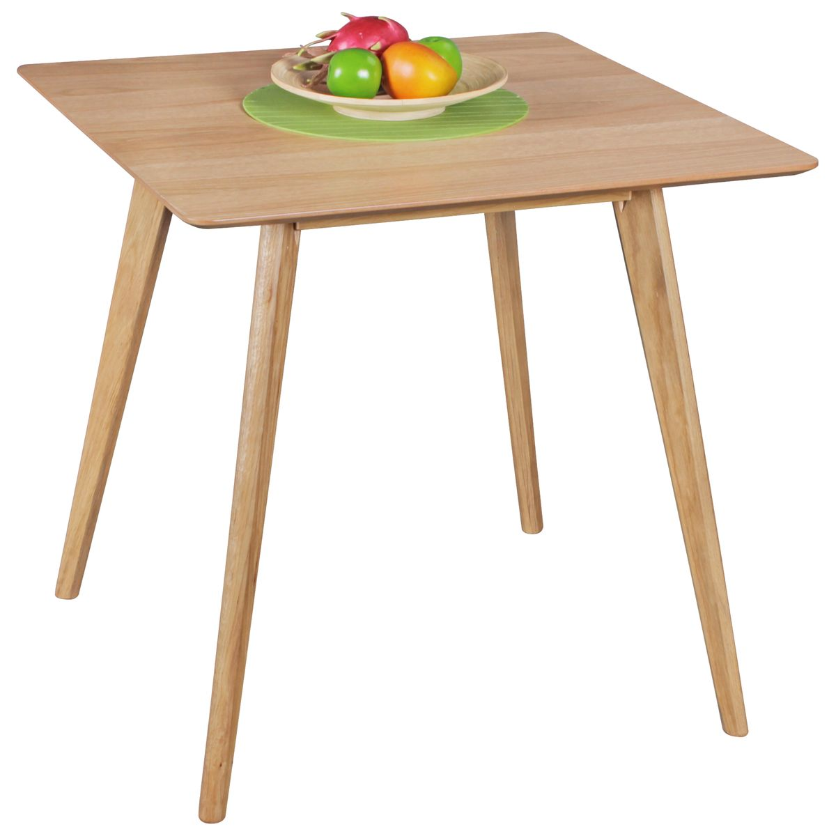 table 80 x 76 x 80cm table mdf table en bois design