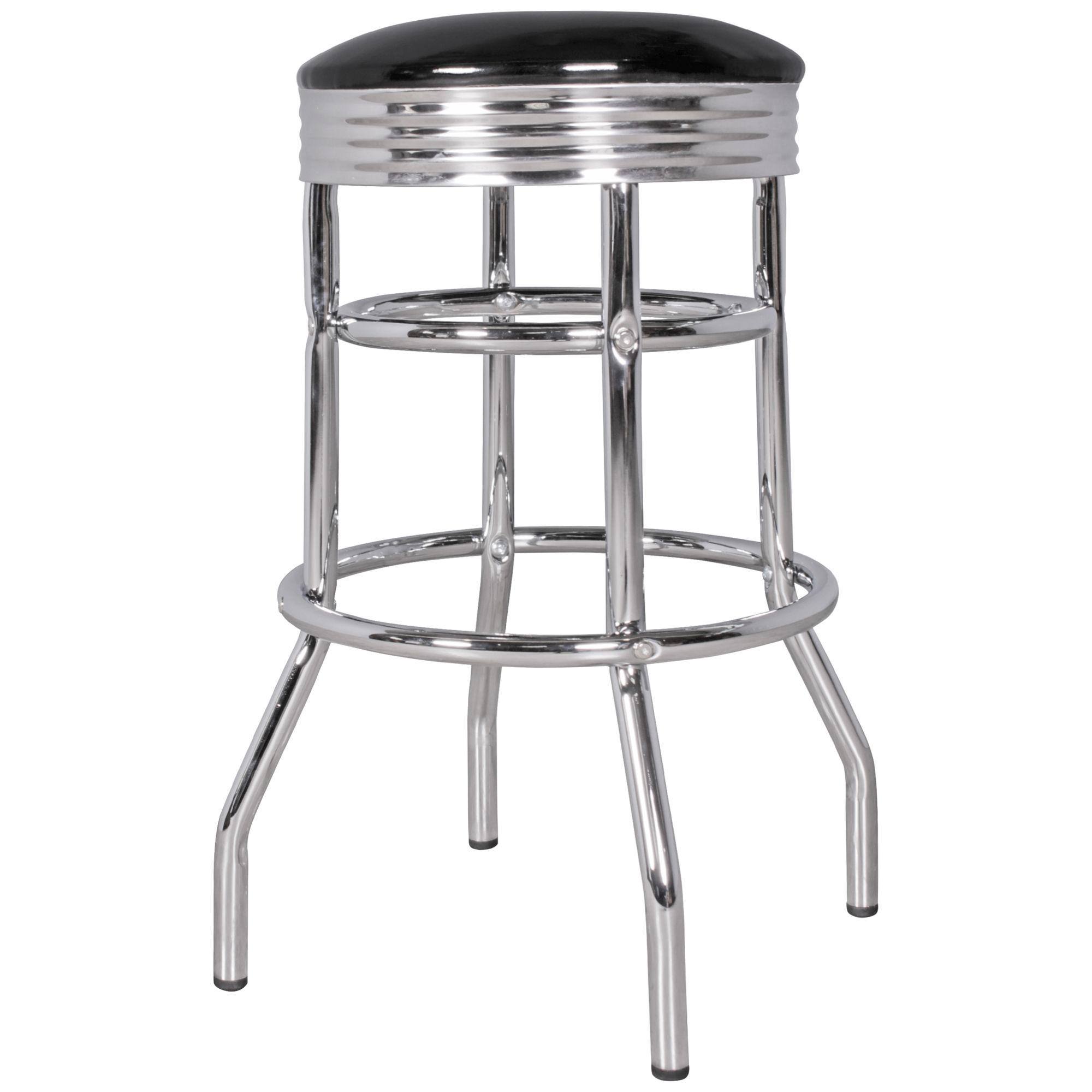 finebuy 2er set barhocker king american diner retro design. Black Bedroom Furniture Sets. Home Design Ideas