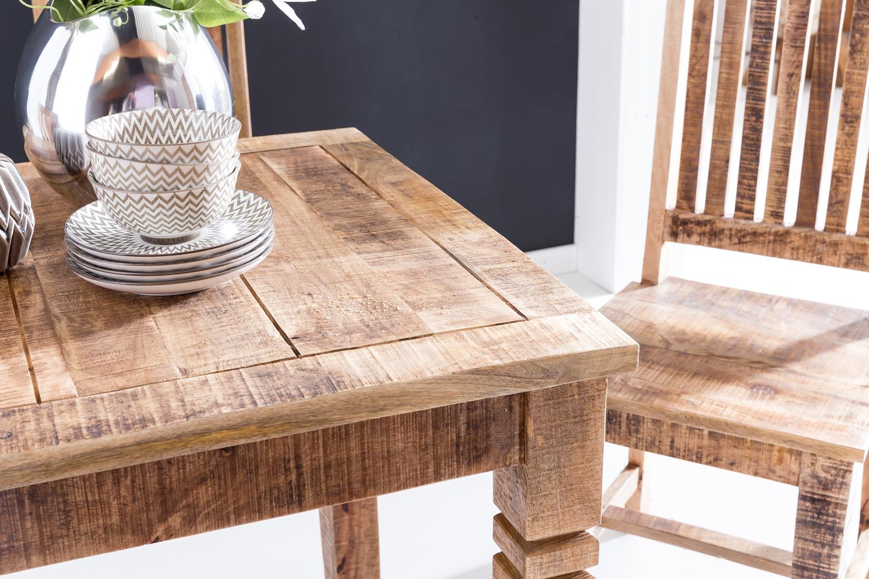 esstisch massivholz quadratisch, finebuy esstisch rusti 80 x 80 x 76 cm mango massivholz quadratisch, Innenarchitektur