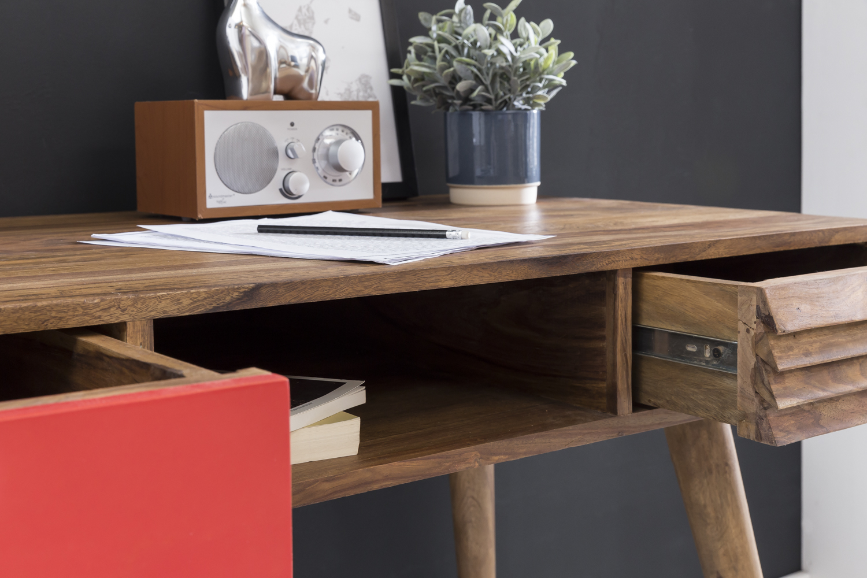Schreibtisch Holz Massiv 2021