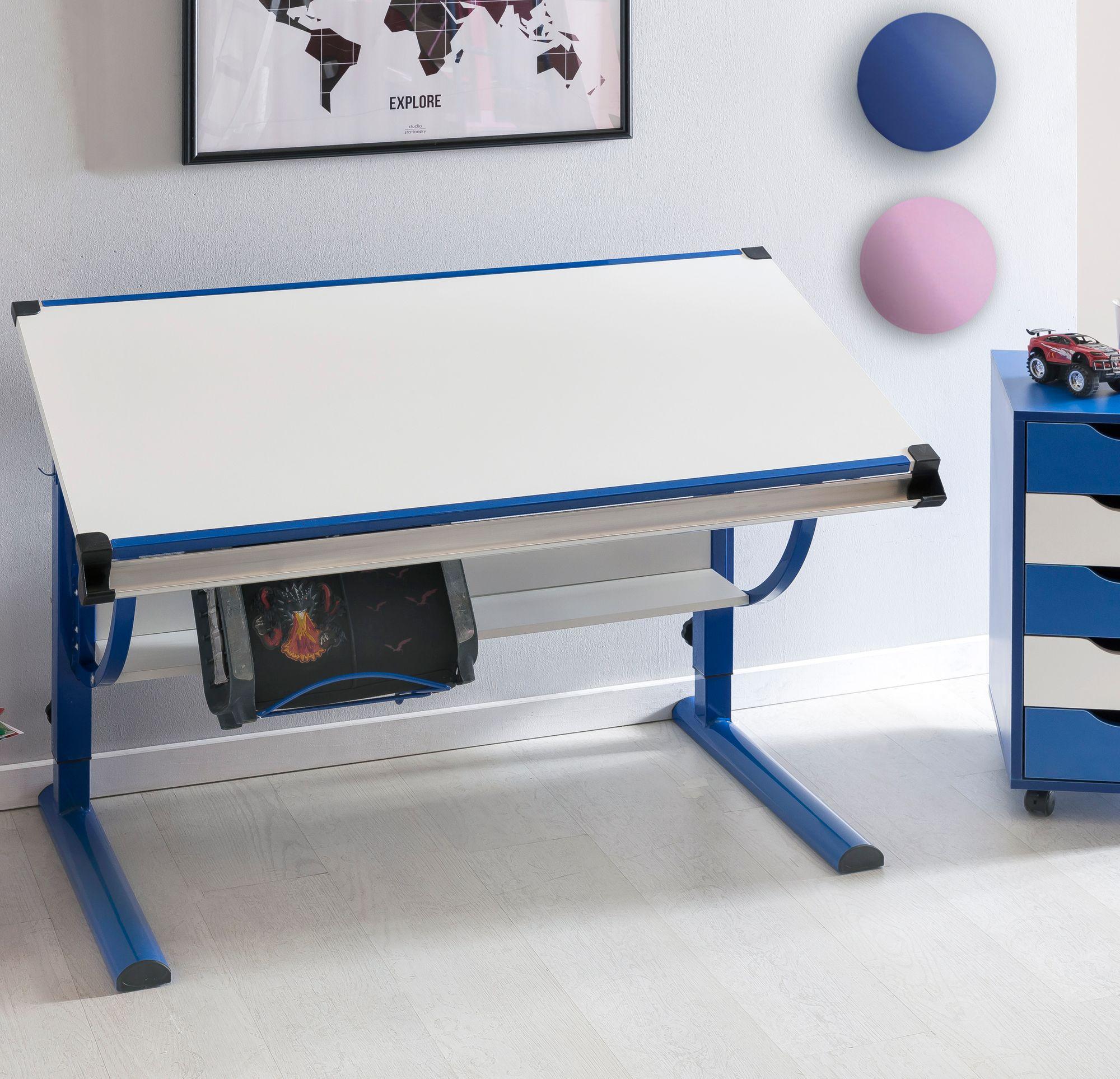 Kinderschreibtisch  Kinderschreibtisch Schülerschreibtisch neigungs- & höhenverstellbar Holz  Design