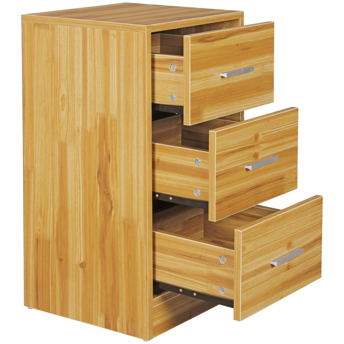 nachttisch holz schublade boxspringbett nachtschrank nachtkommode kommode nako ebay. Black Bedroom Furniture Sets. Home Design Ideas