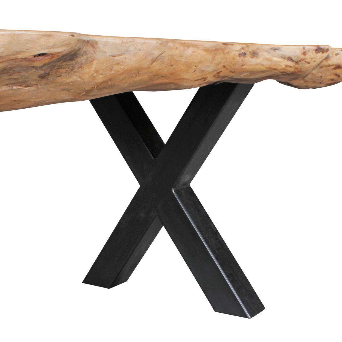 Finebuy esszimmertisch akazie landhaus stil voll holz for Design esstisch vollholz
