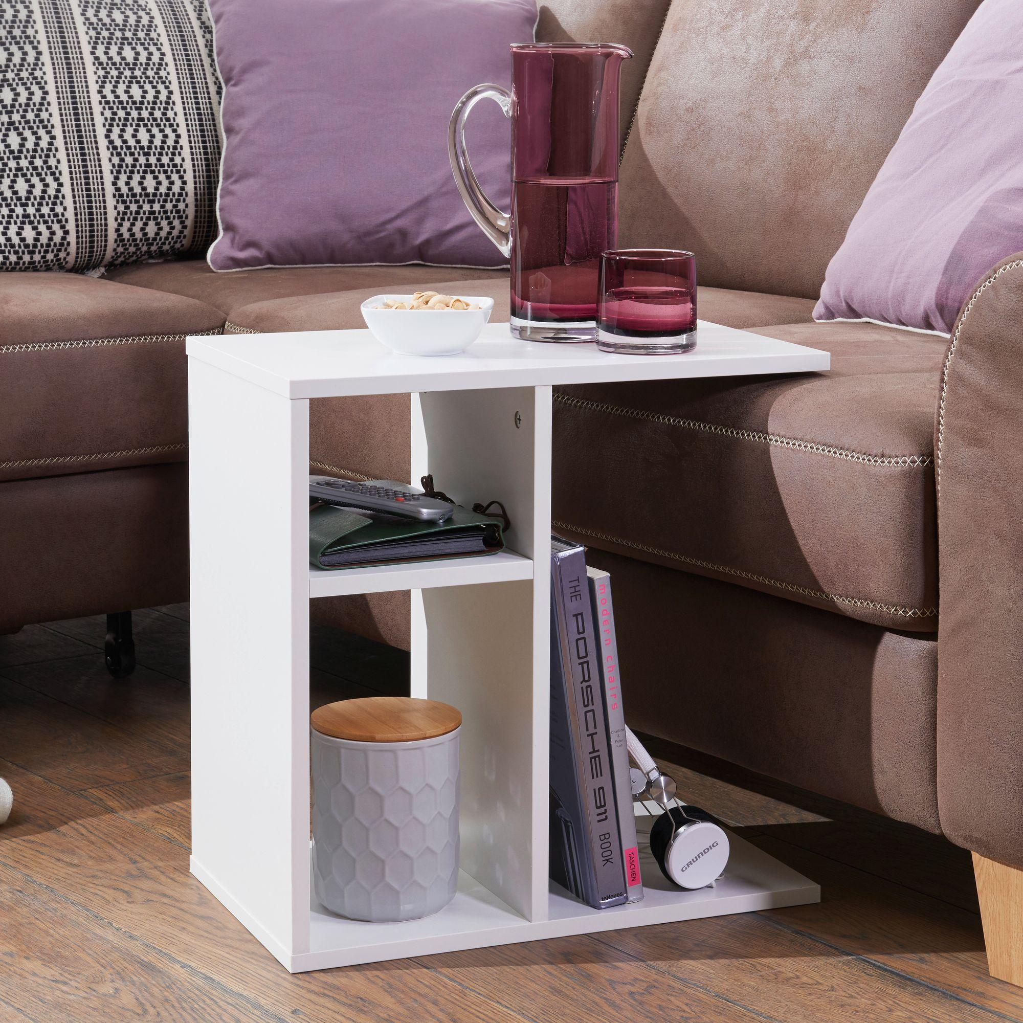 wohnling beistelltisch milo holz anstelltisch couchtisch. Black Bedroom Furniture Sets. Home Design Ideas