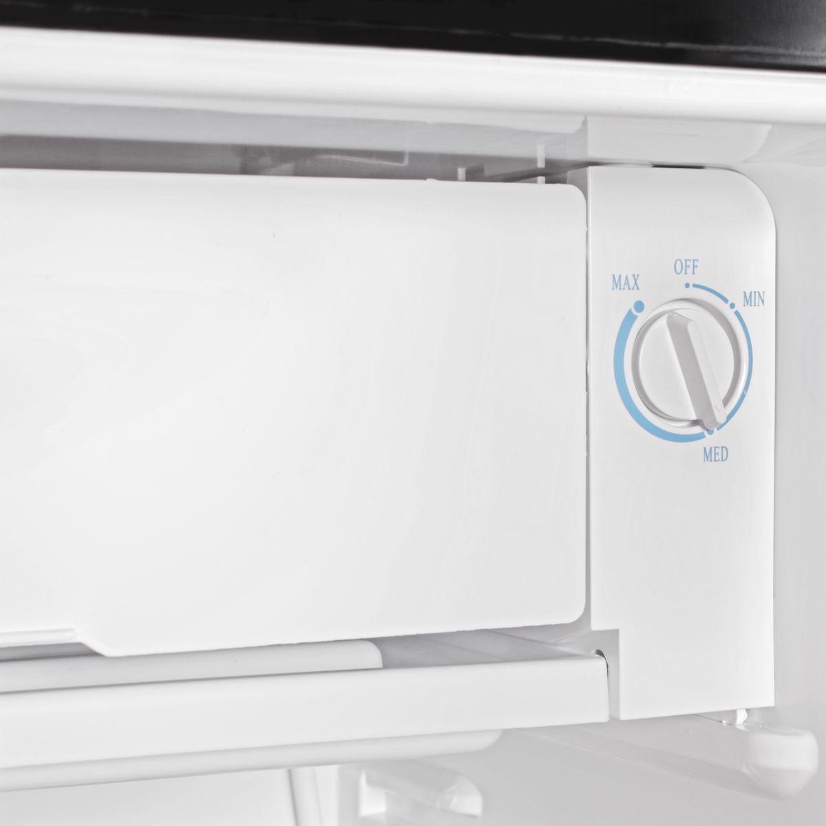 Retro Kühlschrank 95 l Gefrierfach Minikühlschrank Türanschlag ...